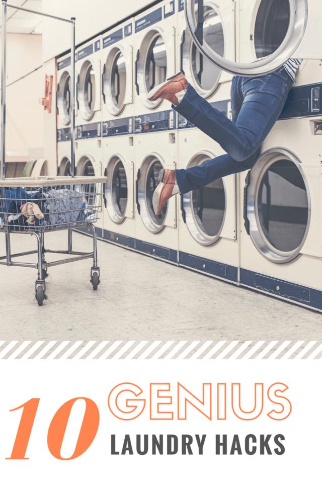 10 Genius Laundry Hacks