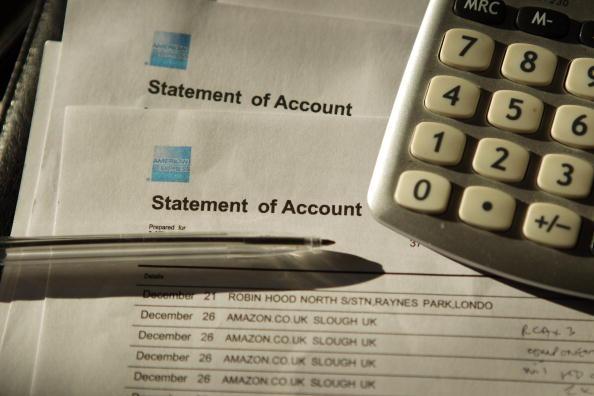 Credit card budget app