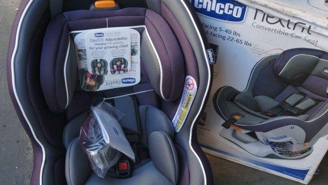 Chicco Nextfit Convertible Car Seat