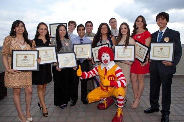 ronald mcdonald scholarship essay