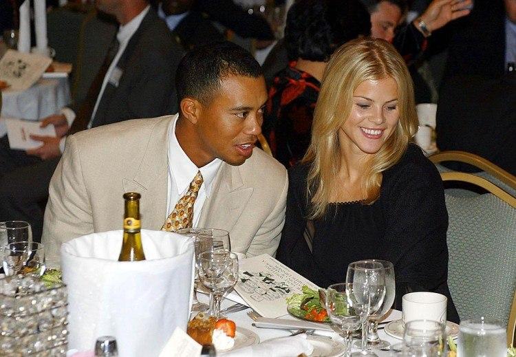 Tiger Woods And Girlfriend Elin Nordegren