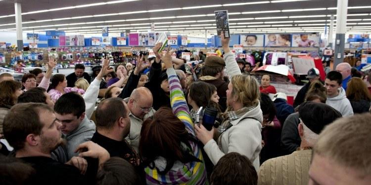 Black Friday Kicks Off Start To U.S. Holiday Shopping
