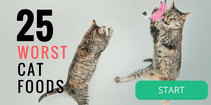 25 Worst Cat Foods
