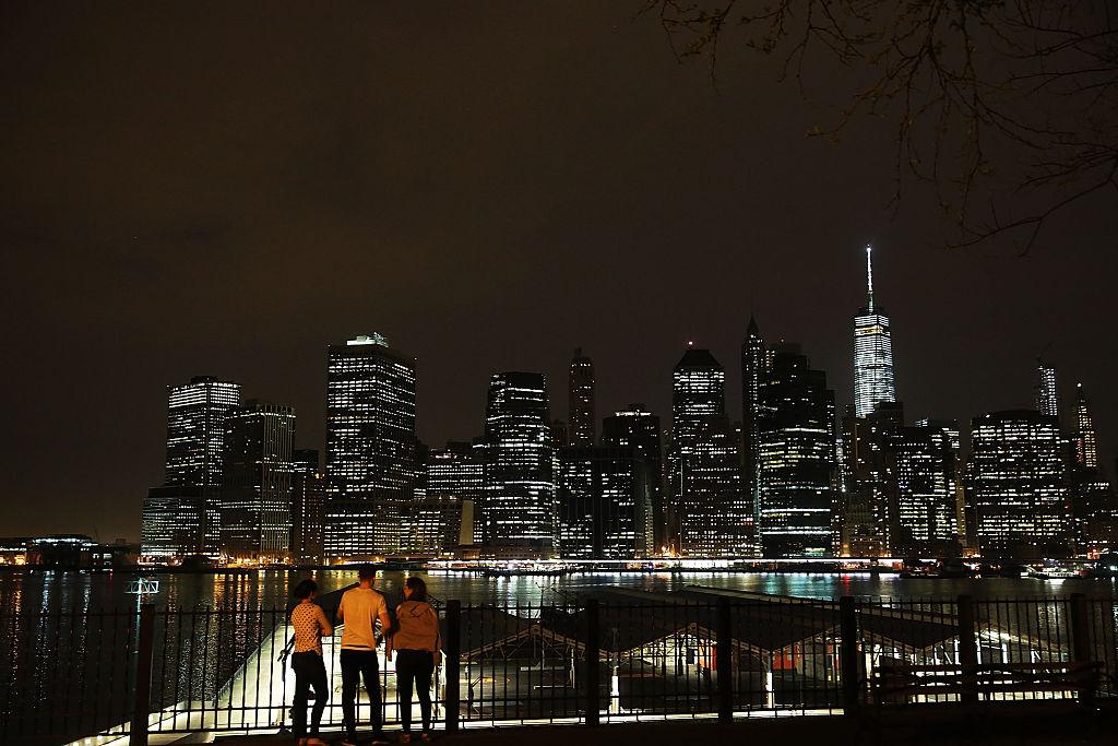 View of new york city skyline