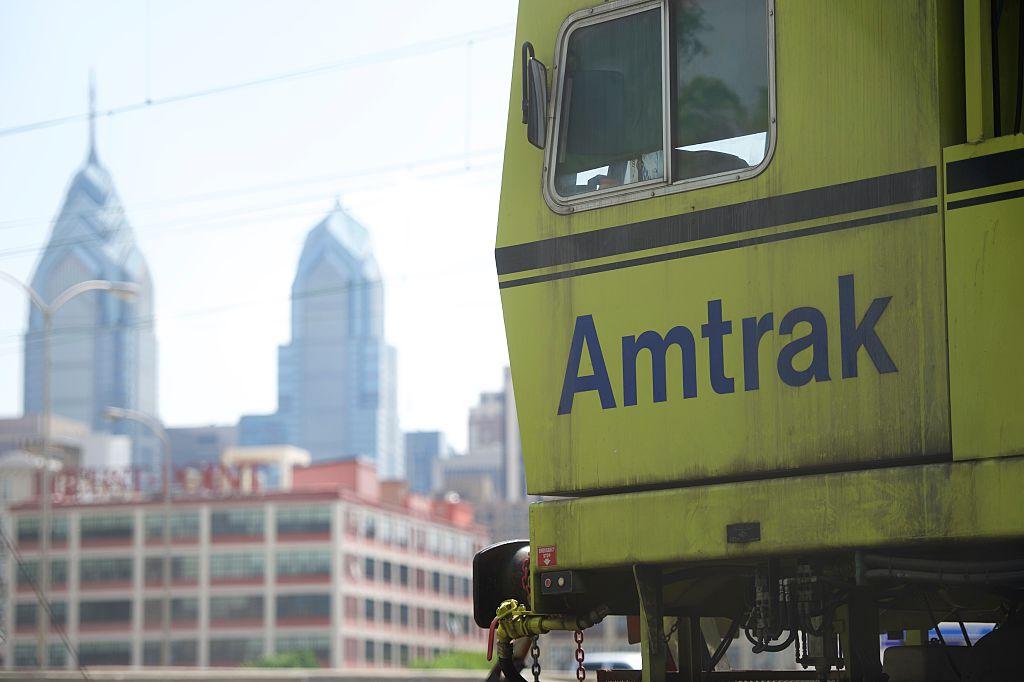 Amtrak in Philadephia