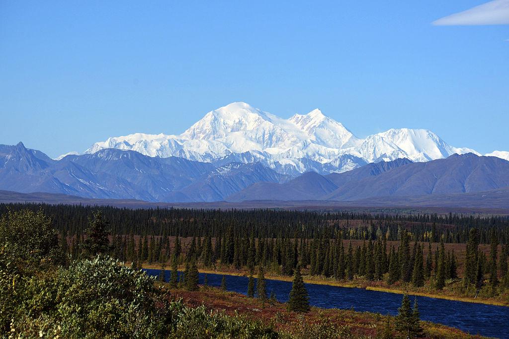 Beautiful view of Alaska