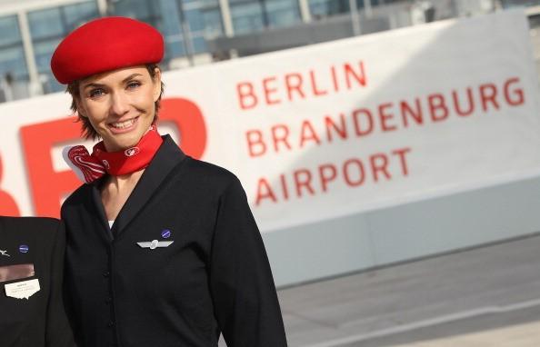 flight attendant in germany