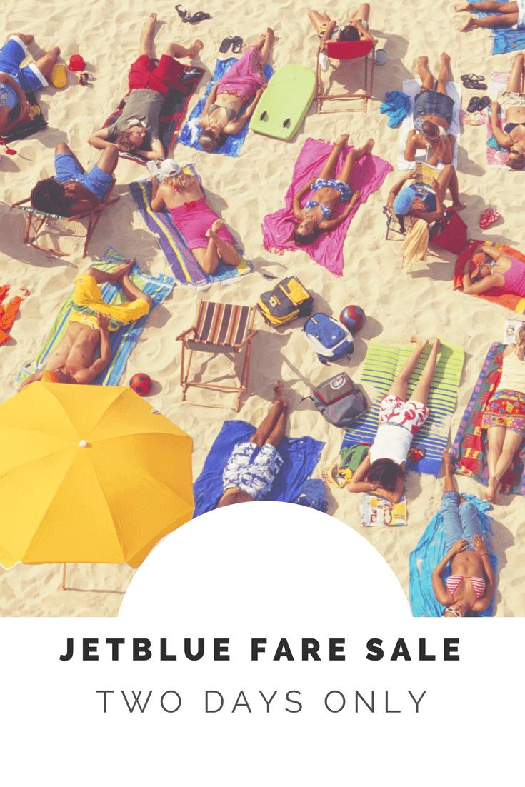 JetBlue Cheap Ticket Sale