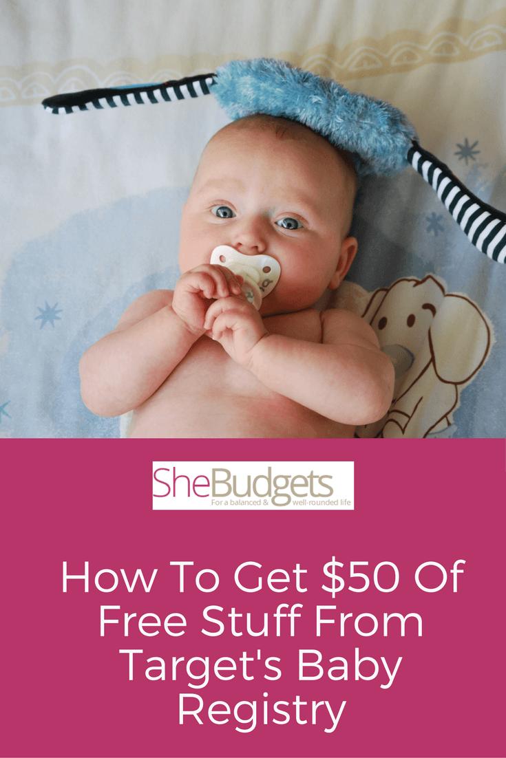 Target Baby Registry Savings